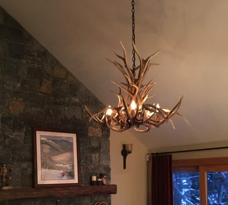 loon mountain chandelier