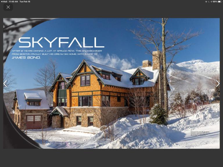 Sky fall Magazine Artical